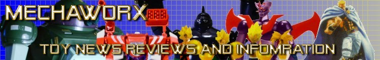 Mechaworx: Toy News Reviews and Information. Building the most comprehensive online toy database one toy at a time.